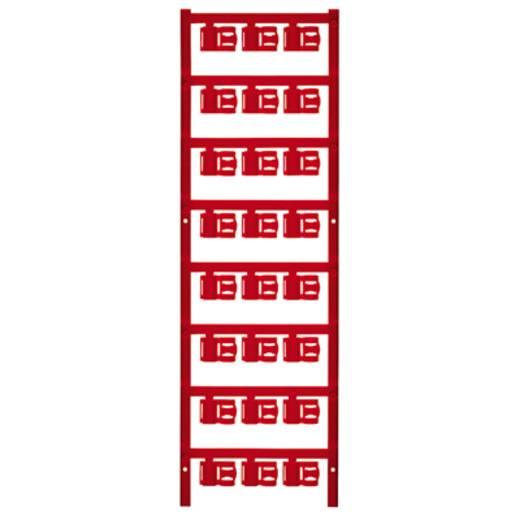 Kabelmarkering Montagemethode: Vastklemmen Markeringsvlak: 12 x 5.80 mm Geschikt voor serie Enkele aders Rood Weidmüller
