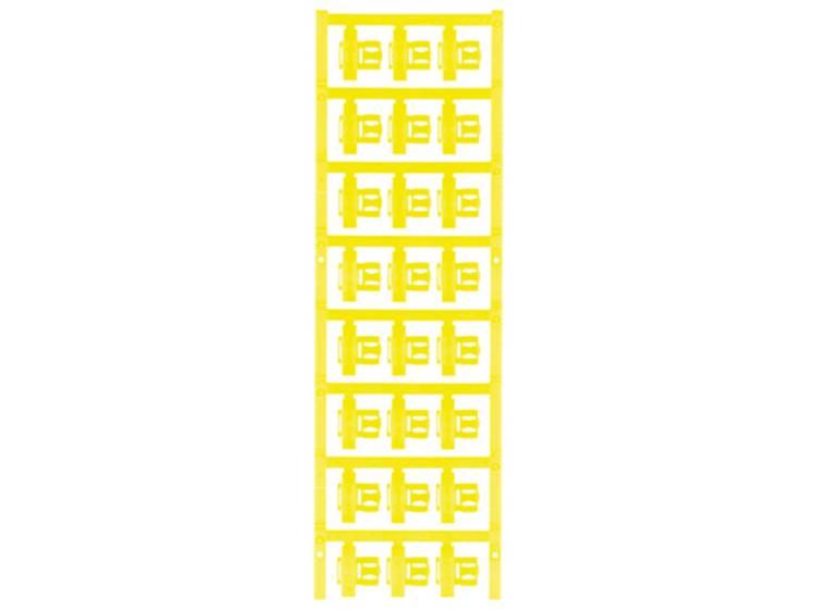 Kabelmarkering Montagemethode: Vastklemmen Markeringsvlak: 21 x 5.80 mm Geschikt voor serie Enkele aders Geel Weidmüller SFC 2.5/21 MC NE GE 1062070000 Aantal