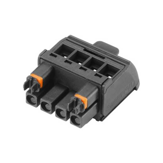 Weidmüller Connectoren voor printplaten BHZ 5.00/04/90LH BK/BK (l x b x h) 14.6 x 22.4 x 29 mm