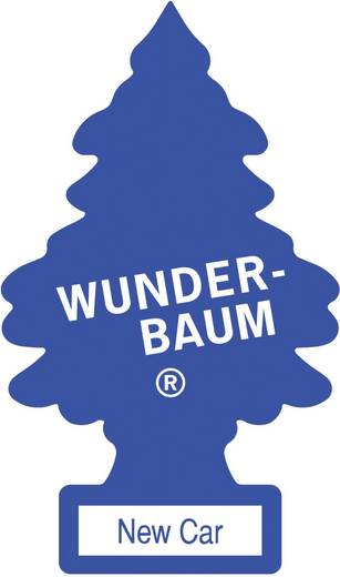 Wunder-Baum Geurkaart New Car 1 stuks