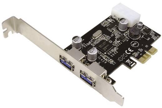 LogiLink 2 poorten USB 3.0-controllerkaart PCIe