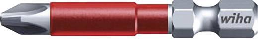Wiha MaxxTor-bit 49,Phillips-bit, PH-bit 36828 6,3 mm (1/4 inch) Lengte 49 mm 1 stuks bits in een kunststof box