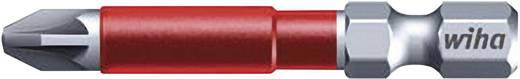 Wiha MaxxTor-bit 49, Pozidriv-bit, PZ-bit 36831 6,3 mm (1/4 inch) Lengte 49 mm 5 stuks bits in een kunststof box