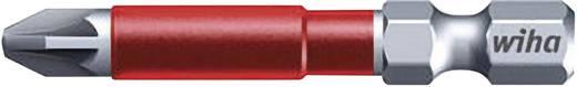 Wiha MaxxTor-bit 49, Pozidriv-bit, PZ-bit 36832 6,3 mm (1/4 inch) Lengte 49 mm 5 stuks bits in een kunststof box