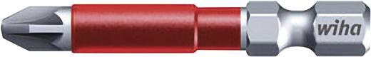 Wiha MaxxTor-bit 49, Pozidriv-bit, PZ-bit 36833 6,3 mm (1/4 inch) Lengte 49 mm 5 stuks bits in een kunststof box