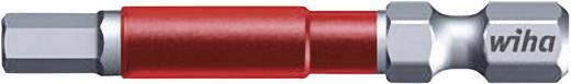 MaxxTor-bit 49, zeskant bits Wiha 36834 3,0 mm 6,3 mm (1/4 inch) Lengte:49 mm Inhoud 5 stuks bits in een kunststof box