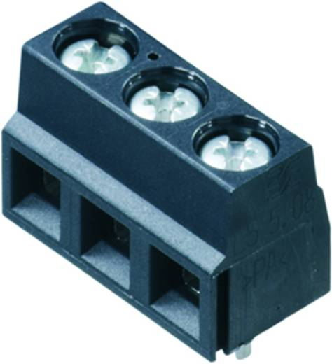 Klemschroefblok 1.50 mm² Aantal polen 5 LS 5.08/05/90 3.5SN BK BX Weidmüller Zwart 100 stuks