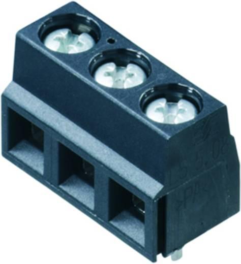 Klemschroefblok 1.50 mm² Aantal polen 3 LS 5.08/03/90 3.5SN GY BX Weidmüller Grijs 100 stuks