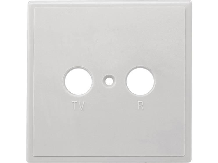 Axing TZU 2 Afdekplaat antennedoos TV, FM Opbouw