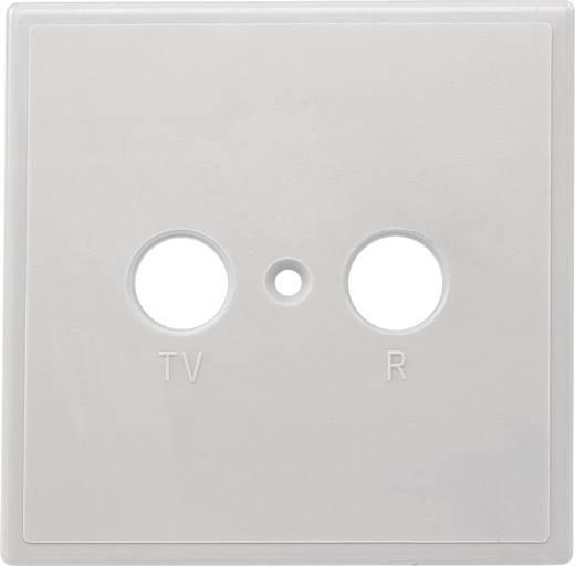 Axing TZU 2 ABDECKUNG Afdekplaat antennedoos TV, FM Opbouw