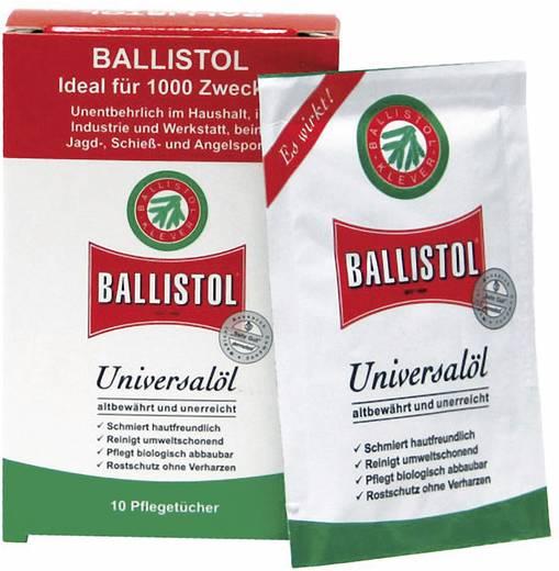 Ballistol 21950 Doos verzorgingsdoekjes universele olie N/A 10 stuks N/A