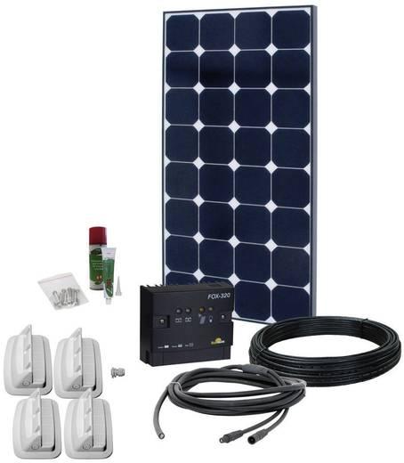 Solarset Solar Peak Two 3.0 Phaesun 100 Wp Incl. aansluitkabel, Incl. laadregelaar, Geschikt voor camper en boot