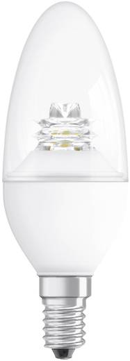 LED-lamp E14 Kaars 3.8 W = 25 W Warmwit (Ø x l) 38 mm x 110 mm Energielabel: A+ OSRAM Dimbaar 1 stuks