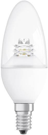 OSRAM LED E14 Kaars 3.8 W = 25 W Warmwit (Ø x l) 38 mm x 110 mm Energielabel: A+ Dimbaar 1 stuks