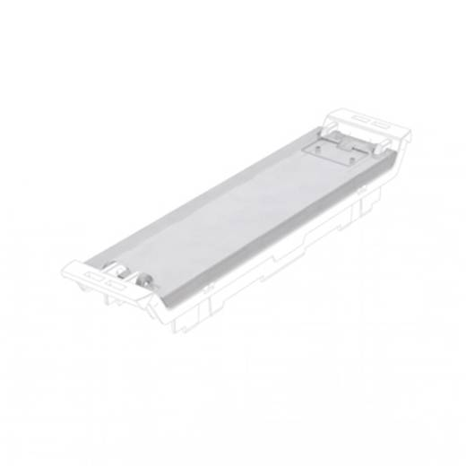 Weidmüller CH20M22 C TP DIN-rail-behuizing draaibaar deksel 86.3 x 22.5 x 4 50 stuks