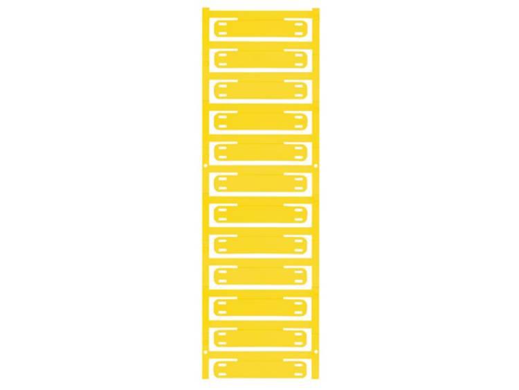 Kabelmarkering Montagemethode: Kabelbinder Markeringsvlak: 60 x 11 mm Geschikt voor serie Enkele aders, Universeel gebruik Geel Weidmüller SFX 11/60 MC NE GE