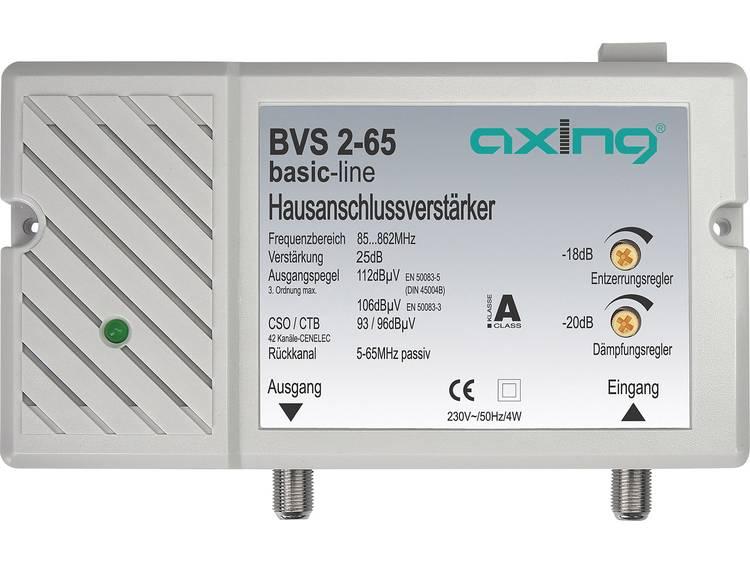 Huisaansluitingversterkers BVS 2-65 Retourkanaal passief: 5...65 MHz Versterking: 25 dB