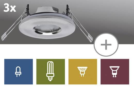 Paulmann Premium Inbouwring Set van 3 IJzer
