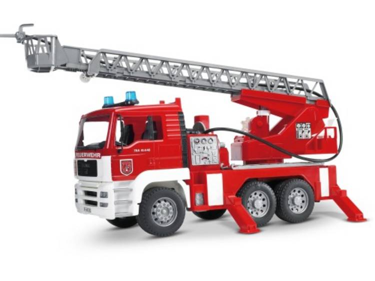 Bruder Brandweerwagen Met Pomp
