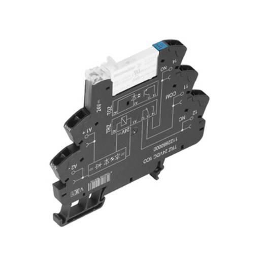 Koppelrelais 10 stuks 120 V/AC 6 A 1x wisselaar Weidmüller TRZ 120VAC RC 1CO AU