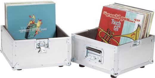 Platten-Case Aluminium Flightcase (l x b x h) 375 x 375 x 430 mm