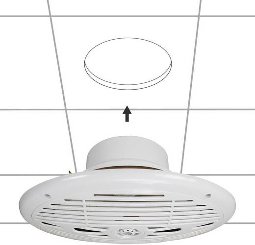 SpeaKa ovale nautique étanche blanc Marine-luidspreker 150 W 4 Ω Wit 1 paar