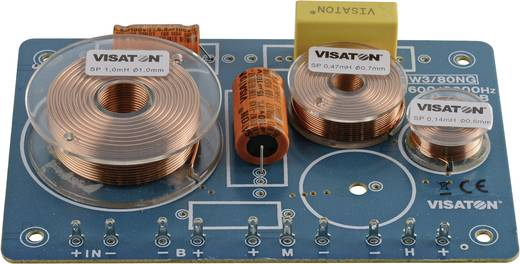 Visaton 5406 Visaton frequentiescheidingsfilter HW 3/80 NG (3 Weg) 8 Ω