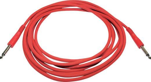 Paccs Instrumenten Kabel [1x Jackplug male 6.3 mm - 1x Jackplug male 6.3 mm] 6 m Rood