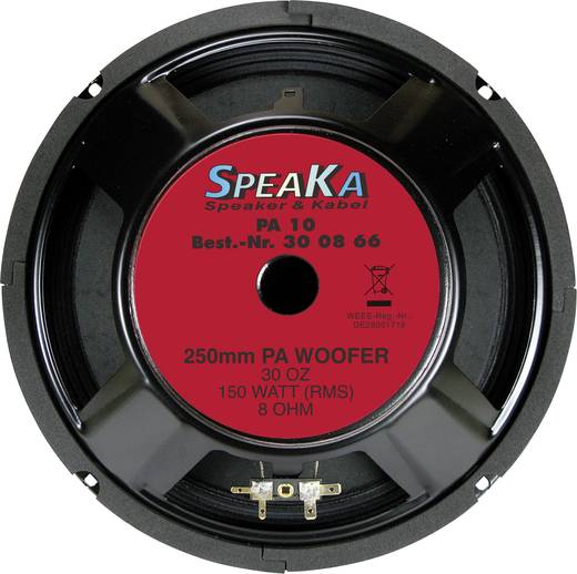 Luidsprekerchassis 10 inch CPA PA-10 150 W 8 Ω