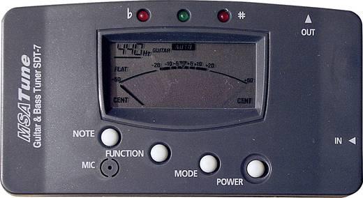 Gitaar stemapparaat MSA Musikinstrumente CT-7 Zwart
