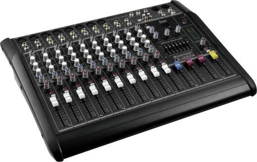 Omnitronic LS-1222A Powermixer 2x 300 W Aantal kanalen:12