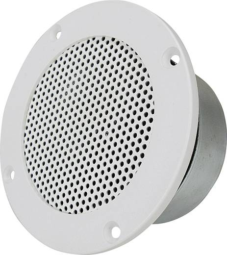 SpeaKa DL-1117 Inbouwluidspreker 25 W 8 Ω Wit 1 stuks