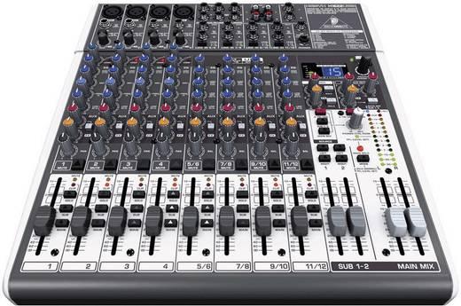 Behringer XENYX X1622 USB Console-mengpaneel Aantal kanalen:12 USB-aansluiting