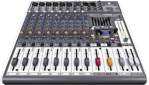 Behringer XENYX 1222FX Console-mengpaneel Aantal kanalen:12