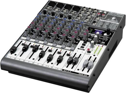 Behringer XENYX X1204 USB Console-mengpaneel Aantal kanalen:8 USB-aansluiting