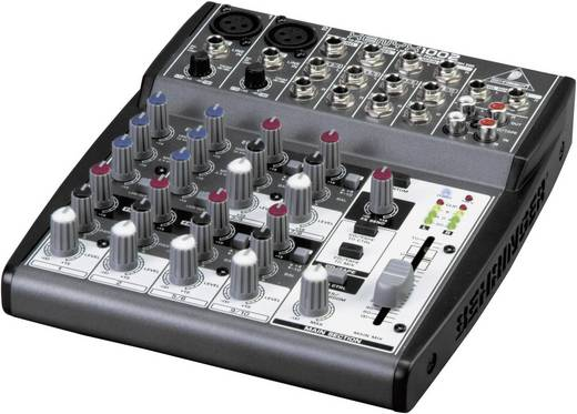 Behringer XENYX 1002 Console-mengpaneel Aantal kanalen:10
