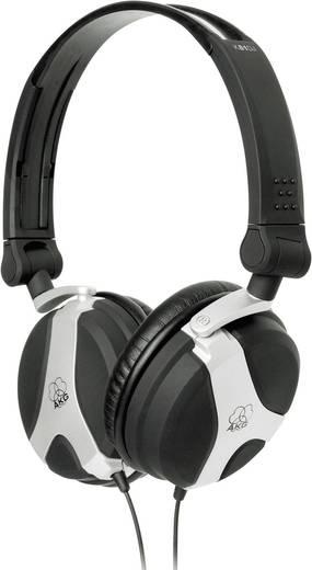 AKG Harman K81 DJ DJ Koptelefoon On Ear Zwart, Zilver