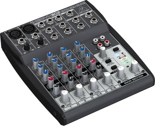 Behringer Xenyx 802 Console-mengpaneel Aantal kanalen:6