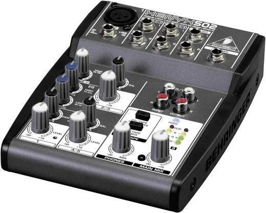 Behringer XENYX 502 Console-mengpaneel Aantal kanalen:3