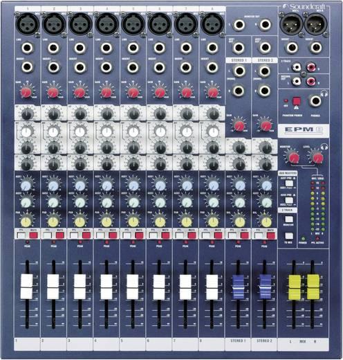 SoundCraft EPM3 Console-mengpaneel Aantal kanalen:8