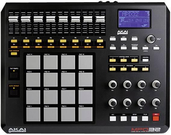 Spiksplinternieuw MIDI-controller AKAI Professional MPD32 | Conrad.nl LX-82