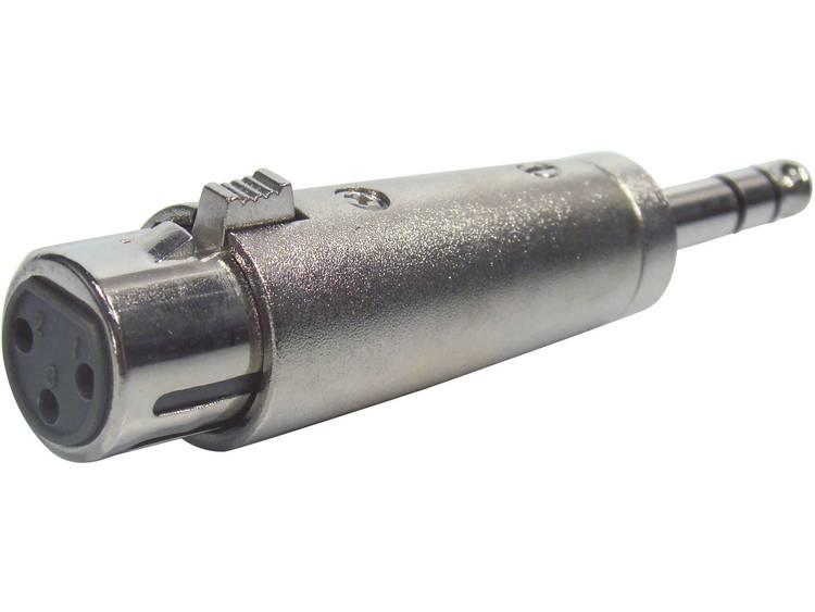 XLR--jackplugadapter XLR-female-jackplug-male stereo