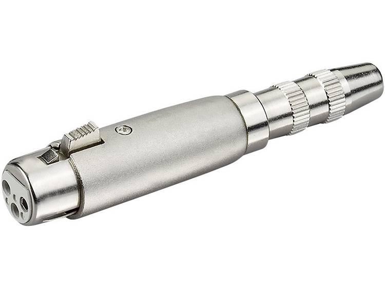 Speakon-connector Adapter XLR-F-jackplug-F