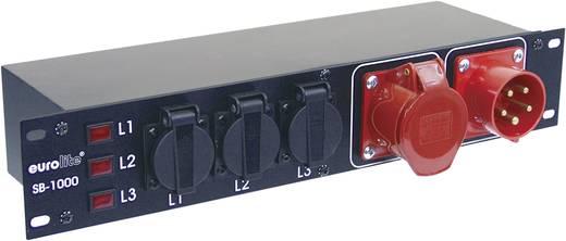 "Eurolite SB-1000 19"" stroomverdeler 9-voudig 2 HE"