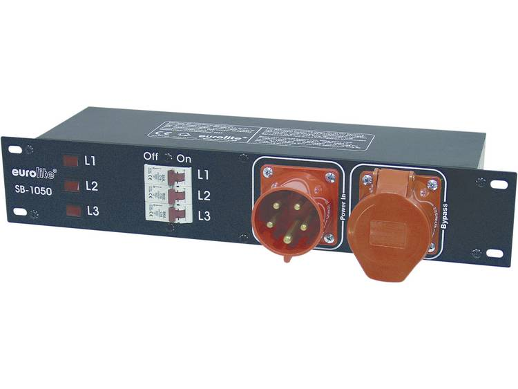 Eurolite SB 1050 19 stroomverdeler 6 voudig 2 HE