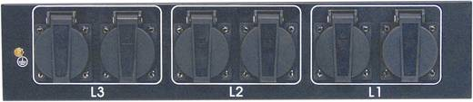"Eurolite SB-1050 19"" stroomverdeler 6-voudig 2 HE"