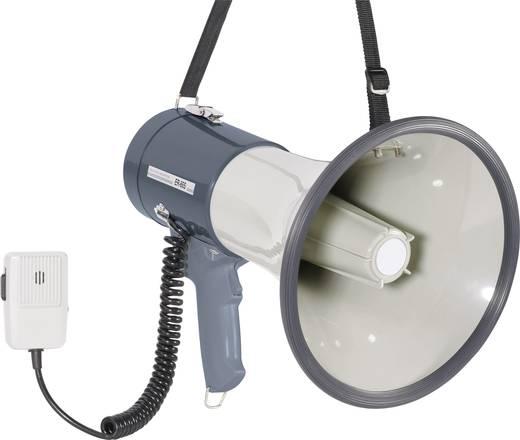 SpeaKa ER-66S Megafoon Met handmicrofoon, Met draagriem, Met geluiden