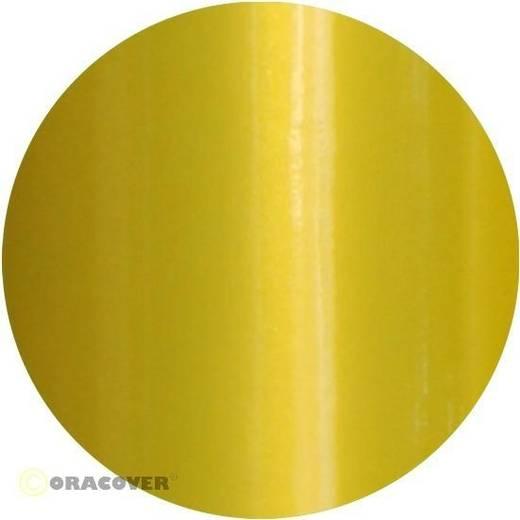 Sierstroken Oracover Oraline 26-036-004 (l x b) 15000 mm x 4 mm Parelmoer geel