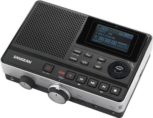Sangean DAR-101 Audiorecorder Zwart