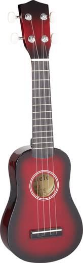 MSA Musikinstrumente UK-1 Ukelele Rood